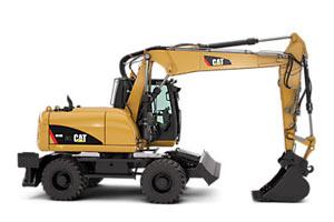 卡特彼勒轮式挖掘机