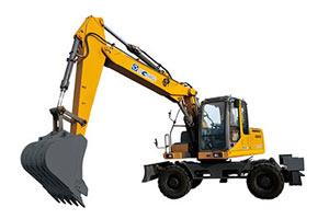徐工轮式挖掘机
