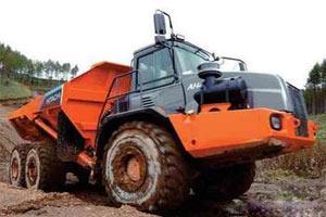 日立铰接式卡车