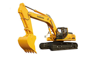 柳工挖掘机