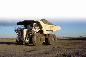 利勃海尔矿用自卸车