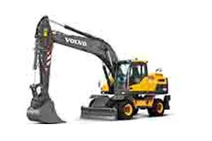 沃尔沃轮式挖掘机