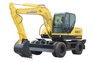 犀牛轮式挖掘机