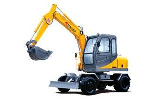 厦工轮式挖掘机