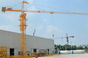 中国现代塔式起重机
