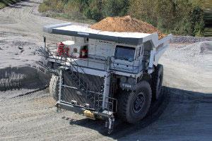 利勃海尔非公路卡车