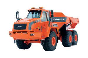 斗山铰接式卡车
