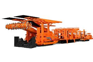 铁建重工掘进机