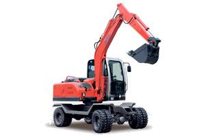 劲工轮式挖掘机