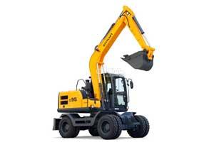 新源轮式挖掘机